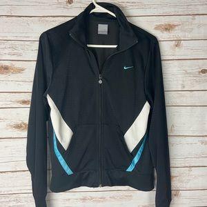 Black Nike Jacket Retro Look